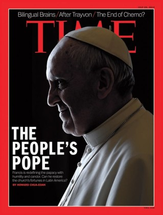 Capa-Time pope francis
